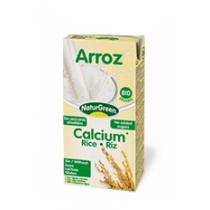 Rīsu dzēriens ar kalciju BIO, Naturgreen